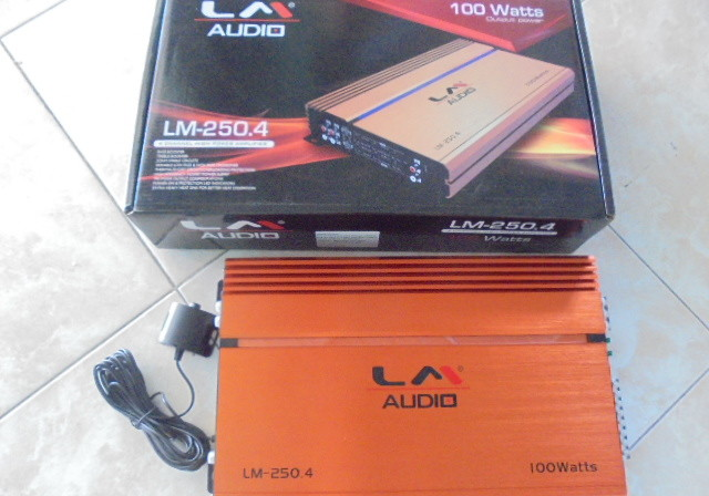 power 4 channel lm audio lm250.4