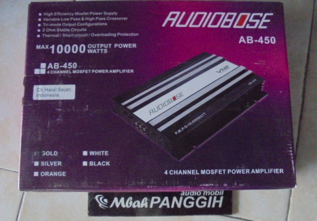power 4 channel audiobose