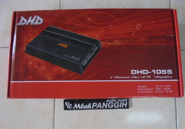 power 4 channel dhd    dhd-1055