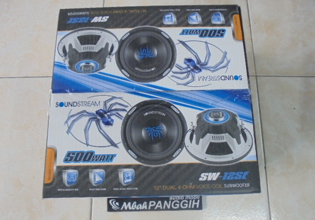 subwofer soundstream sw12se