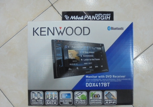 double din kenwood ddx 417bt