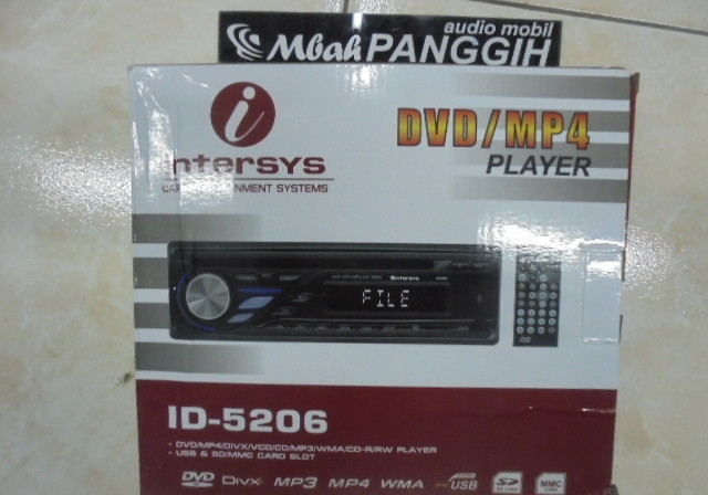 single din intersys dvd usb radio
